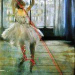 _danseuse sur le fil_ de Marie Parent aka Marnie Chaissac,PLATES COUTURES, 2020, d'après Edgar Degas _LD